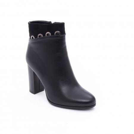 Botine elegante dama VN9327-1 Black0