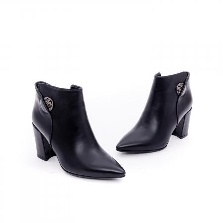 Botine elegante dama VN9357-4 black1