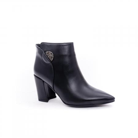 Botine elegante dama VN9357-4 black0