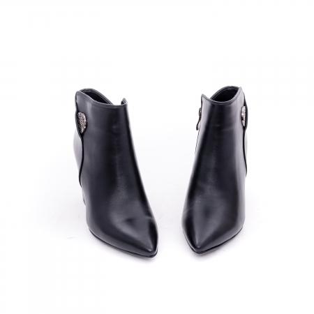 Botine elegante dama VN9357-4 black4