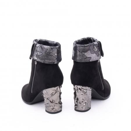 Botine elegante dama VN9375-1 black4