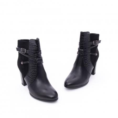 Botine elegante dama  VN9379-3 black1