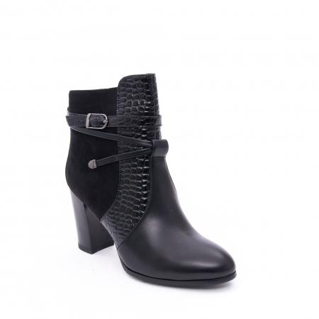 Botine elegante dama  VN9379-3 black0