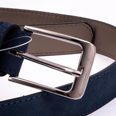 Curea barbat 003 nubuc blue