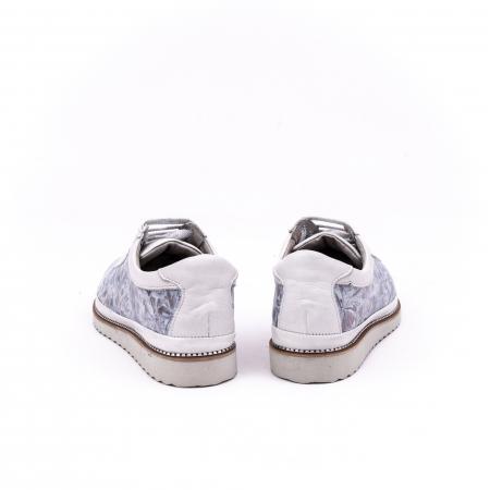 Pantof casual 171608 alb floral6