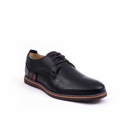 Pantof casual 191523 bleumarin