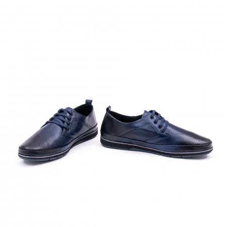 Pantof casual 191538 bleumarin