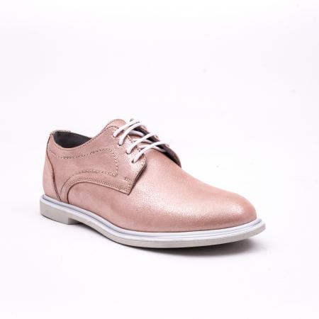 PantofI dama casual piele naturala, Catali-Shoes 191646, pudra0