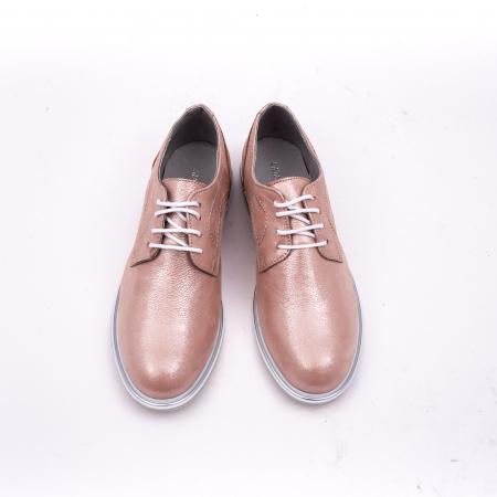 PantofI dama casual piele naturala, Catali-Shoes 191646, pudra5
