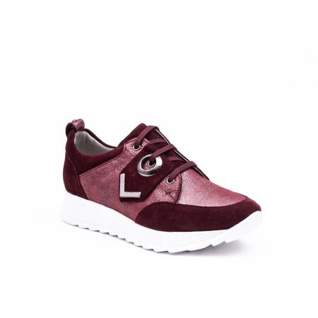 Pantof casual 191651 bordo0