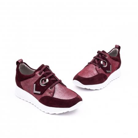 Pantof casual 191651 bordo1