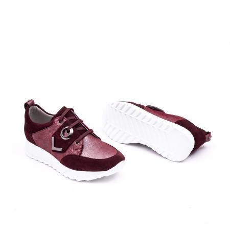 Pantof casual 191651 bordo2