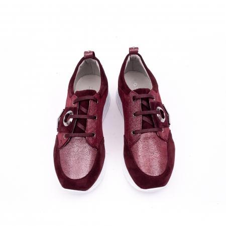 Pantof casual 191651 bordo4
