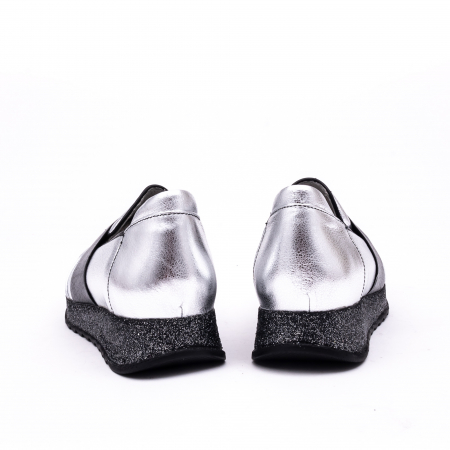 Pantof casual 191652 gri argintiu6