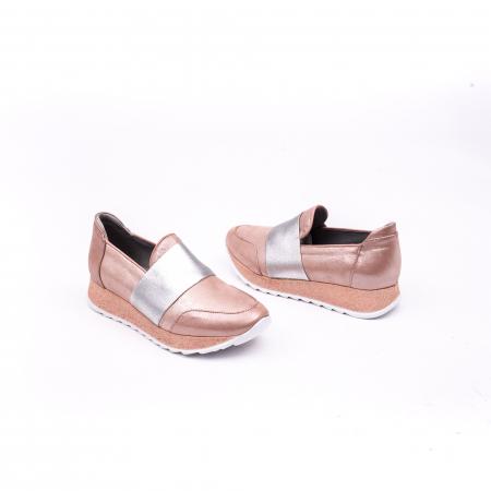 Pantof casual Catali 191652 pudra3