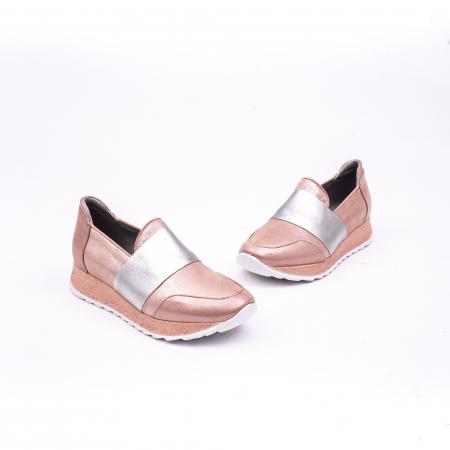 Pantof casual Catali 191652 pudra1