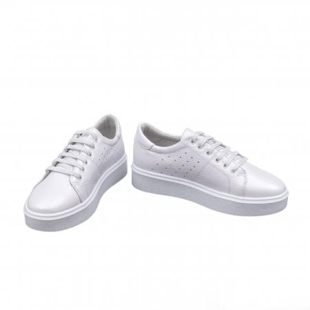 Pantof casual 191653 alb