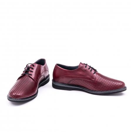 Pantof casual barbat 181591 bordo