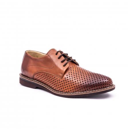 Pantof casual barbat 181591 coniac