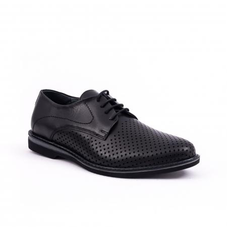 Pantof casual barbat 181591 negru0