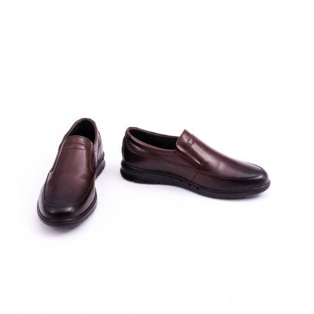 Pantof casual barbat 191525CR maro4