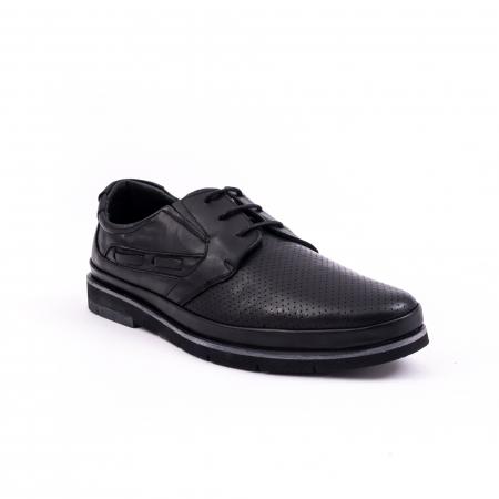 Pantof casual barbat 191536 negru
