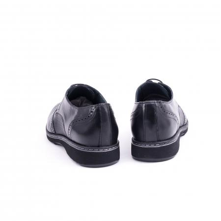 Pantof barbat model Oxford - CataliShoes 181584CR negru6