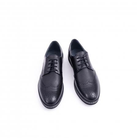 Pantof barbat model Oxford - CataliShoes 181584CR negru5
