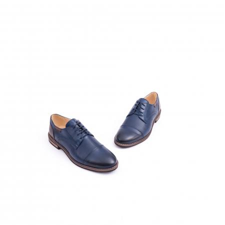Pantof casual barbat CataliShoes 181594CR bleumarin1