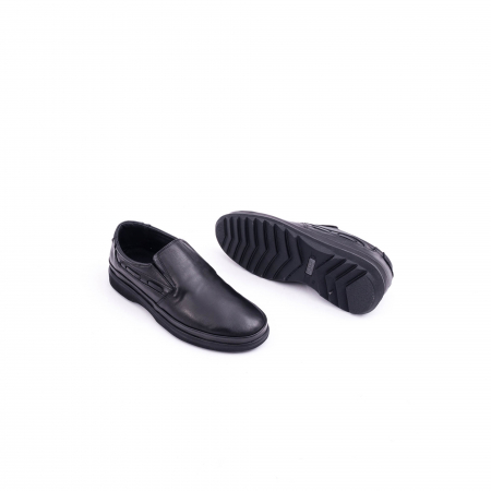 Pantof casual barbat CataliShoes 182507STAR negru2