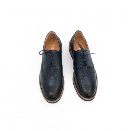 Pantof casual barbat LFX 789 bleumarin