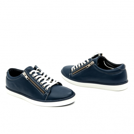 Pantof casual barbat LFX 801 bleumarin0