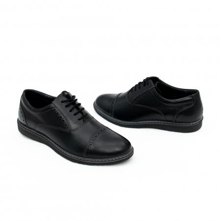 Pantof casual barbat LFX 842 negru