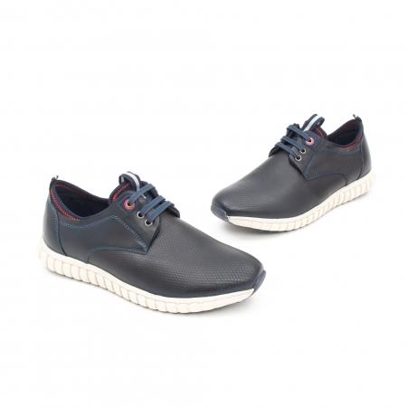 Pantof casual barbat LFX 942 bleumarin1