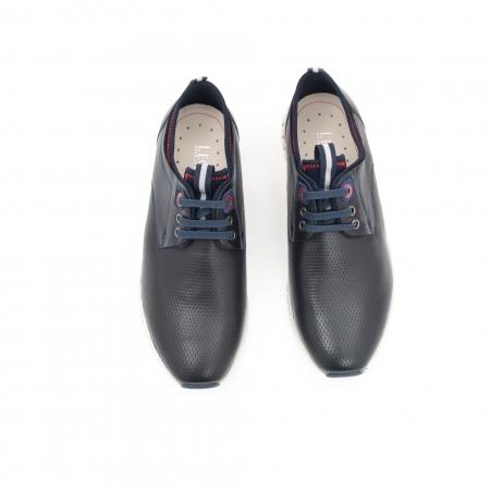 Pantof casual barbat LFX 942 bleumarin4