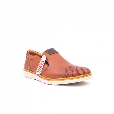 Pantof casual barbat OT 5916 coniac0