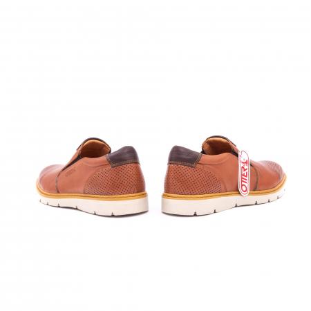 Pantof casual barbat OT 5916 coniac6