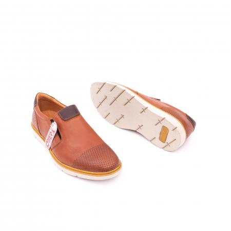 Pantof casual barbat OT 5916 coniac2