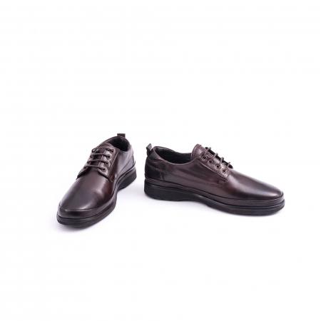 Pantofi barbati casual piele naturala, Catali 182506 star, maro3