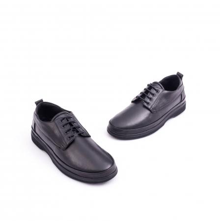 Pantof casual CataliShoes 182506 STAR negru