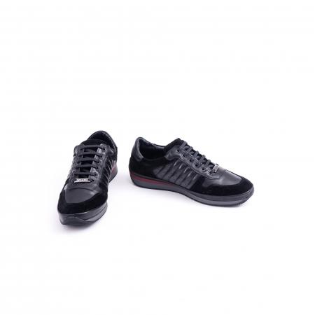 Pantof casual CataliShoes 191534 STAR negru4