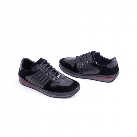 Pantof casual CataliShoes 191534 STAR negru2