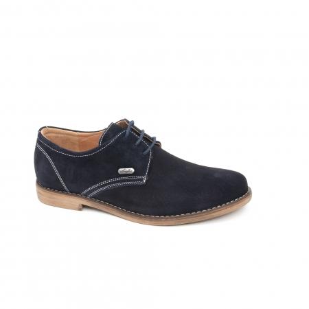 Pantof casual copii LFX 578 blue velur0