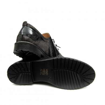 Pantof casual dama ,cod 1116 negru2