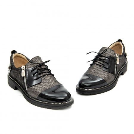 Pantof casual dama ,cod 1116 negru1