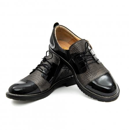 Pantof casual dama ,cod 1116 negru3