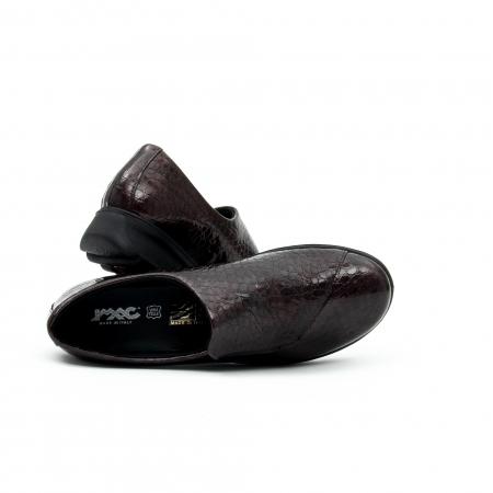 Pantof casual dama IMAC 9108 bordeaux
