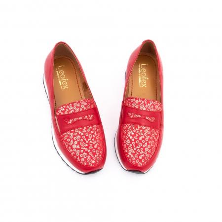 Pantof casual dama LFX 100 roze-rosu  semigrafiat4