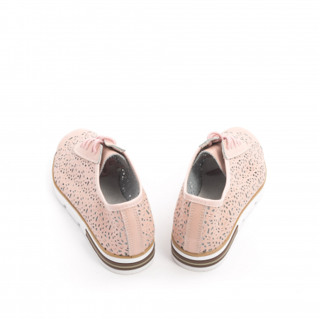 Pantof casual vara 66626 pudra