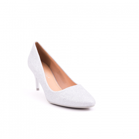 Pantof elegant 658 argintiu0